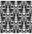 Dainty floral seamless pattern with diamond vector image