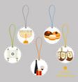 for hanukkah is big jewish holiday vector image