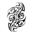 Maori style arm tattoo vector image vector image