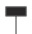 set signpost vector image