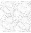 tileable topographic map background concept with vector image vector image