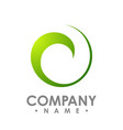 abstract logo for business company corporate vector image vector image