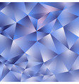 abstract polygonal square background blue vector image vector image