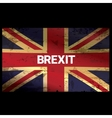 Brexit Text isolated United Kingdom exit vector image