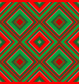christmas geometrical wrapping paper vector image