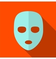 Cosmetic mask flat icon vector image