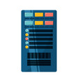 database server storage vector image vector image
