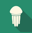 Jellyfish flat icon
