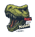 make some noise slogan graphic vector image
