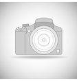 Photo camera outline vector image vector image
