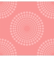 Pink Halftone Background vector image