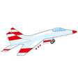 plane to military aviation vector image