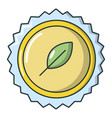refreshing drink cap icon cartoon style vector image