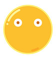 emoji in flat design icon vector image