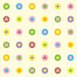 seamless pattern geometric figures vector image