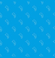 chameleon pattern seamless blue vector image vector image