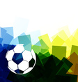 colorful football vector image vector image