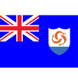 Flags of anguilla vector image