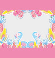 punchy pastel flemish and fruits vector image