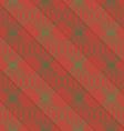 Retro 3D brown diagonal striped bulbs vector image vector image