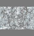 Shiny metal foil