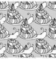 snail background vector image vector image