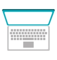 Technology pc laptop isolated icon vector image