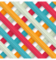 abstract colored seamless geometric paper strip vector image
