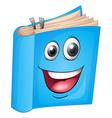 Cartoon Book vector image vector image