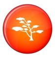 Cedar icon flat style vector image vector image