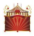 christmas circus vector image vector image