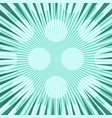 comic abstract turquoise light background vector image