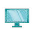 computer screen technology vector image