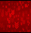 Down Red Arrow Seamless Pattern Background vector image vector image