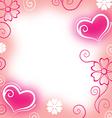heart blur vector image vector image