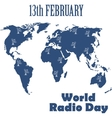 World Radio Day vector image vector image