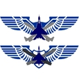 Badges Air Force vector image vector image
