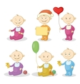 Cartoon children with toys vector image vector image