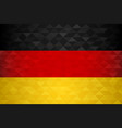 germany country flag german nation vector image