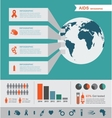 hiv and aids infographics world aids day vector image