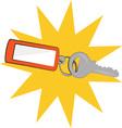 Keys Burst vector image vector image