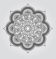 Mandala Round Ornament Pattern Vintage decorative vector image