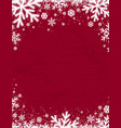 red wooden christmas background with blurred vector image