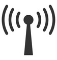 wi-fi station flat icon vector image vector image
