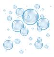 bubble soap light vector image