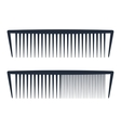 Professional comb icons barbershop vector image