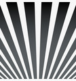 abstract simple striped art background black vector image