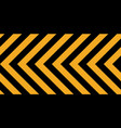 background yellow black stripes industrial sign vector image vector image