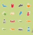 Car wash simply icons