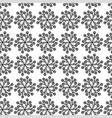 flower cornflower pattern vector image vector image
